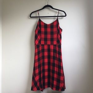 Kenzie Plaid Dress